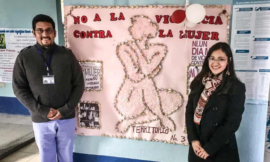 Dr Samy Juarez and Ligia Gomez