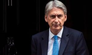 Philip Hammond, the chancellor