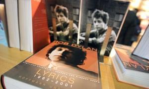 Bob Dylan's book of lyrics