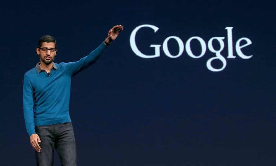 FILE: Sundar Pichai To Become Google CEO With Google Restructure Google Hosts Its I/O Developers Conference<br>FILE - AUGUST 10, 2015: It was reported that Sundar Pichai will become Google CEO as it create a new publicly traded parent company called Alphabet Inc. August 10, 2015. SAN FRANCISCO, CA - MAY 28: Google senior vice president of product Sundar Pichai delivers the keynote address during the 2015 Google I/O conference on May 28, 2015 in San Francisco, California. The annual Google I/O conference runs through May 29. (Photo by Justin Sullivan/Getty Images)