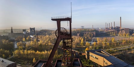 The Zeche Zollverein, a Unesco world heritage site.
