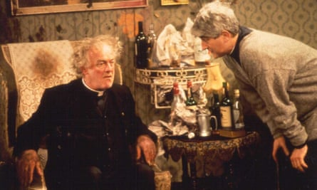 Father Jack Hackett and Father Ted Crilly.