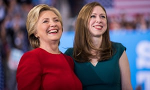 Hillary Clinton and her daughter Chelsea
