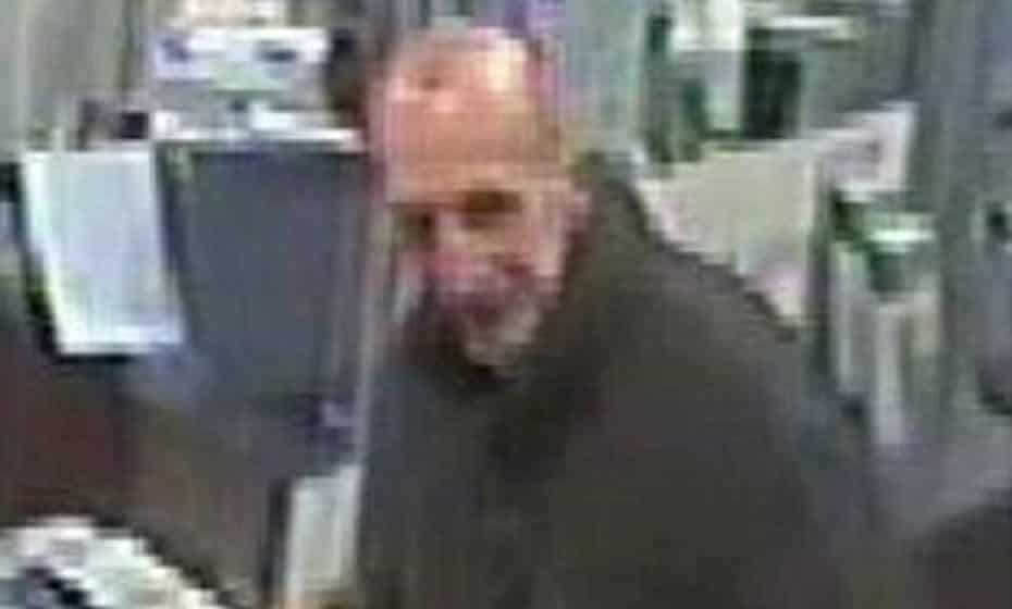 CCTV footage shows the man at Ealing Broadway station before his death on Saddleworth moor