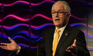 Malcolm Turnbull on Saturday