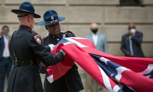 'Suddenly, after 126 years of taunting and jeering at Black Mississippians and their white allies from atop flag poles, the flag is history.'