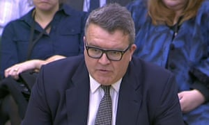Tom Watson before the Commons home affairs committee