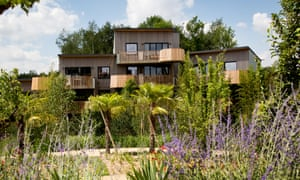 'Cosy and insulated capsules': eco lodges at Villages Nature.