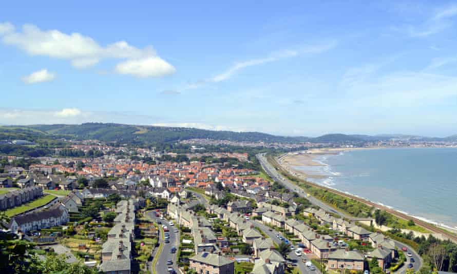 Colwyn Bay in Wales, where right to buy will be banned by 2021.
