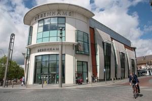 The Debenhams store in Ashford