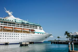 The Vision of the Seas cruiseliner.