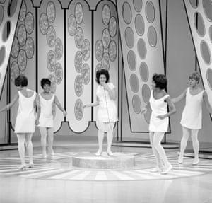 On the Jonathan Winters Show, January 1968