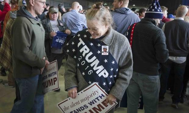 هواداران ترامپ کاملا نژادپرستاند... نه صبر کنید! آنها طرد شدهاند!