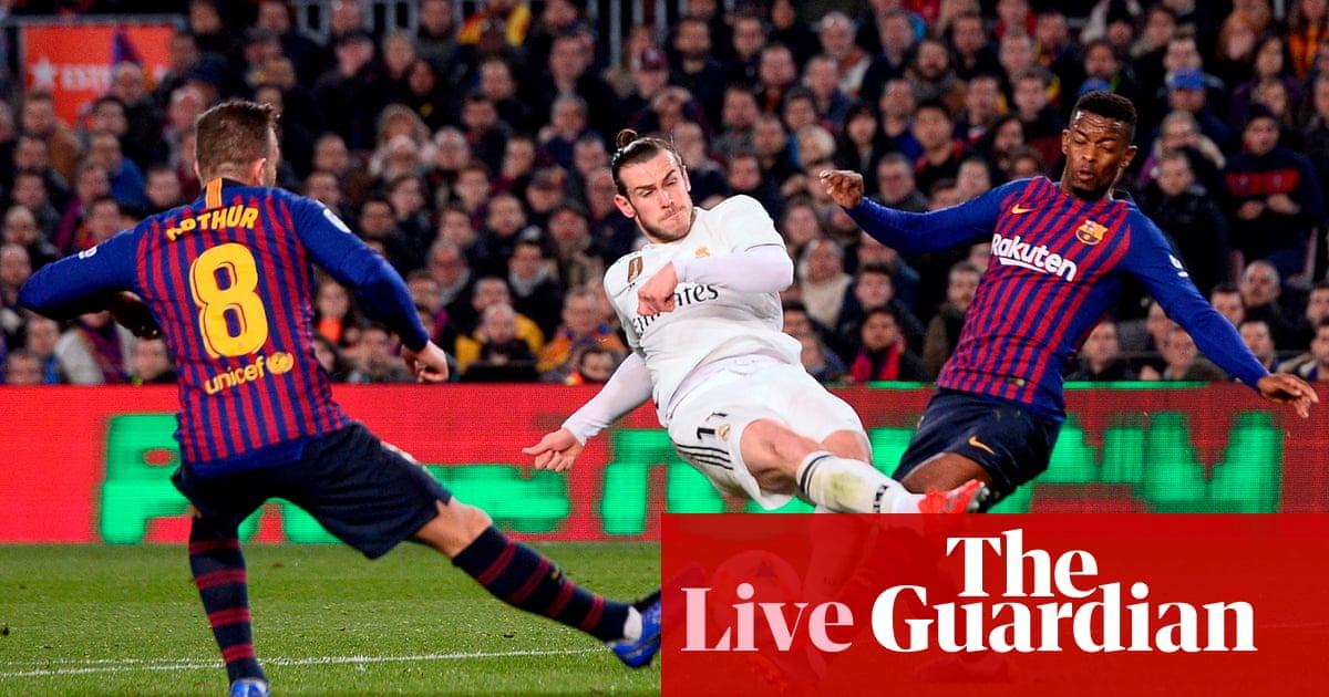 ecae8c86d54fe Barcelona 1-1 Real Madrid  Copa del Rey semi-final