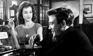 Raw sexuality ... Albert Finney with Shirley Anne Field in Saturday Night and Sunday Morning