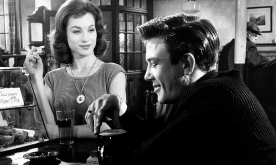 Shirley Anne Field and Albert Finney in Saturday Night and Sunday Morning, 1960.