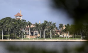 President Donald Trump's Mar-a-Lago resort in Palm Beach.