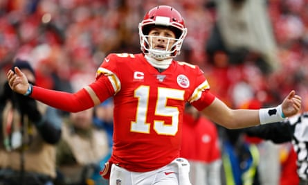 Patrick Mahomes was almost unstoppable against the Texans on Sunday