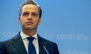 Dutch minister Hugo de Jonge faced opposition from the conservative ChristenUnie.