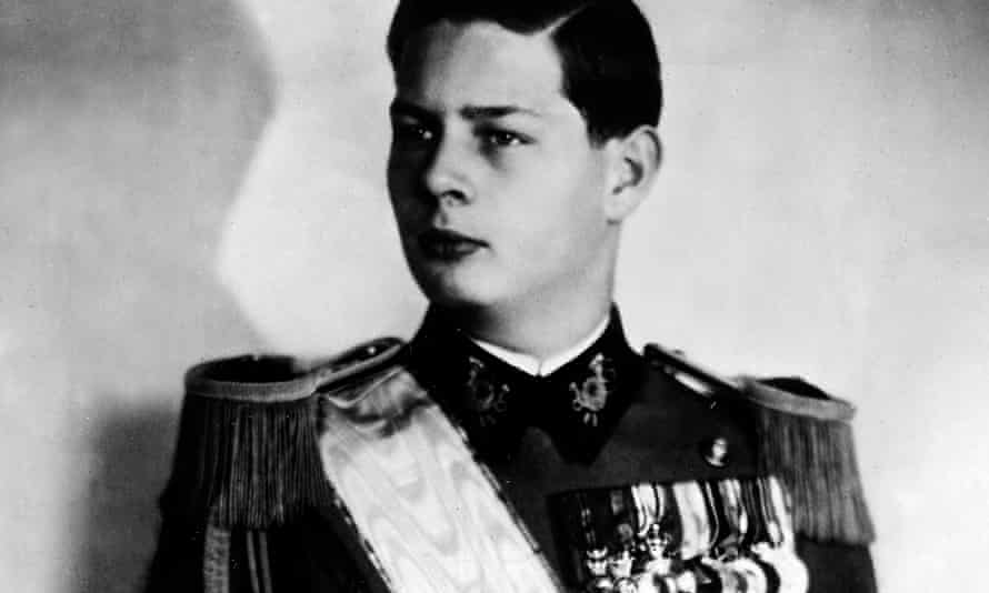 King Michael of Romania in 1940. He was ousted by the Soviets in 1947.