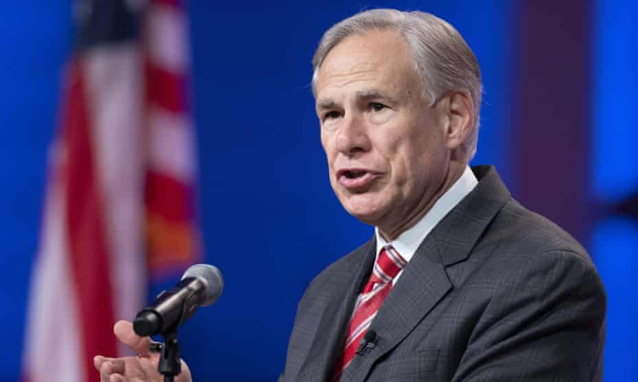 Greg Abbott, who was previously vaccinated and also later tested positive for Covid-19, said in his order that 'vaccines are strongly encouraged for those eligible to receive one, but must always be voluntary for Texans'.