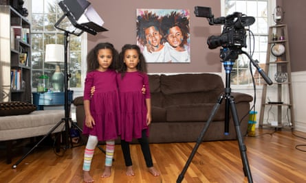 New Jersey twins Ava and Alexis McClure were included in Forbes magazine's list of top kid influencers in 2017.