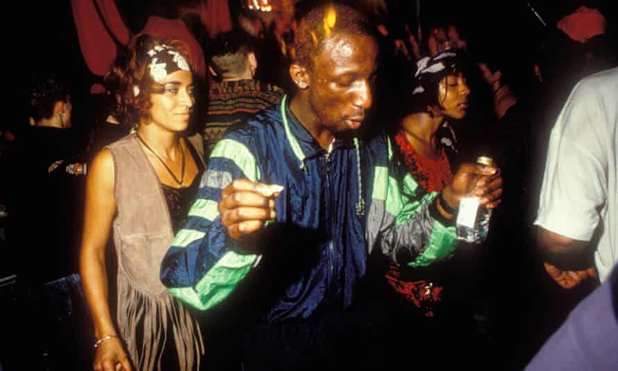 Clubbers at Raindance, 1991.