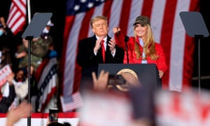 Donald Trump's rally in Georgia on 4 January did little for Kelly Loeffler, who lost her Senate runoff election.