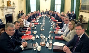 Theresa May leads her first cabinet meeting of the new year at 10 Downing Street on Tuesday