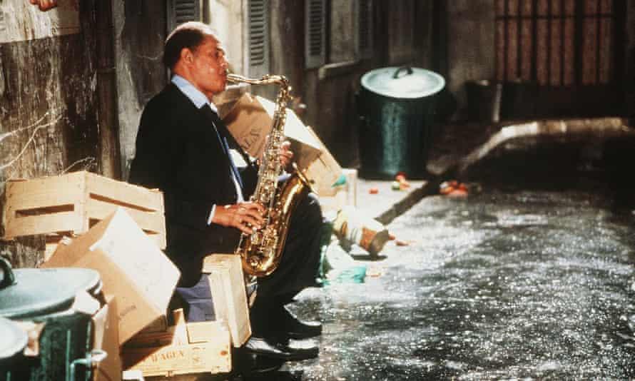 دکستر گوردون در نیمه شب دور ، 1986.
