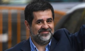 Former Catalan National Assembly president Jordi Sànchez