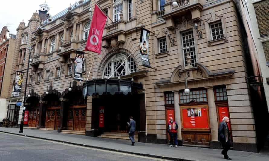 English National Opera in St Martin's Lane, central London