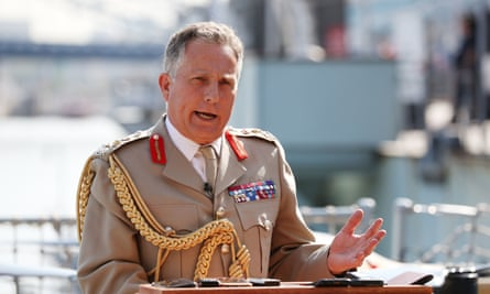 General Sir Nick Carter, chief of the Defence Staff,