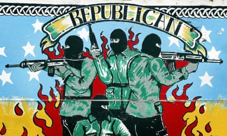 A Republican mural in north Belfast.