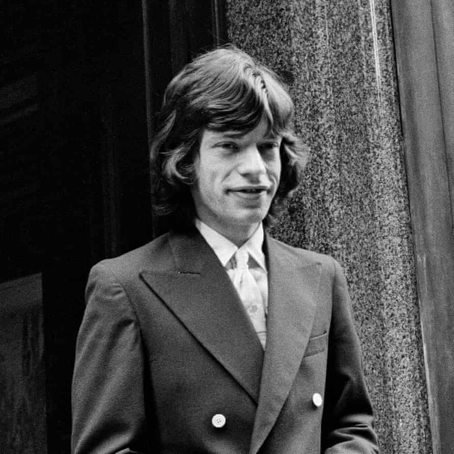 Mick Jagger on the morning of his appeals court hearing in 1967