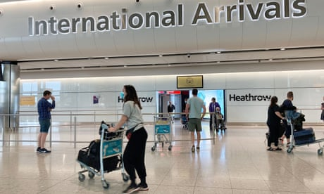 Business groups brand UK's quarantine plan for arrivals 'isolationist'