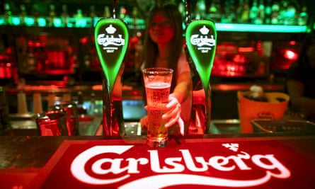 Carlsberg said it was responding to 'significant cost challenges' by increasing its beer prices by 2.6% on average.
