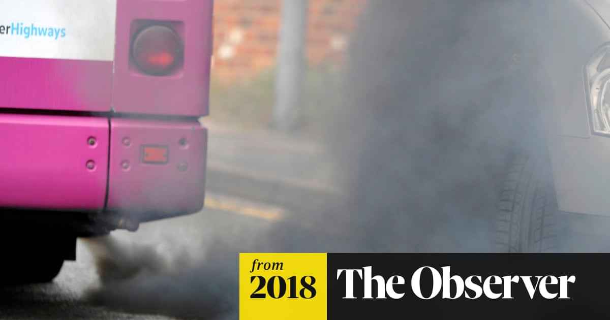 Air pollution levels 'forcing families to move out of cities'