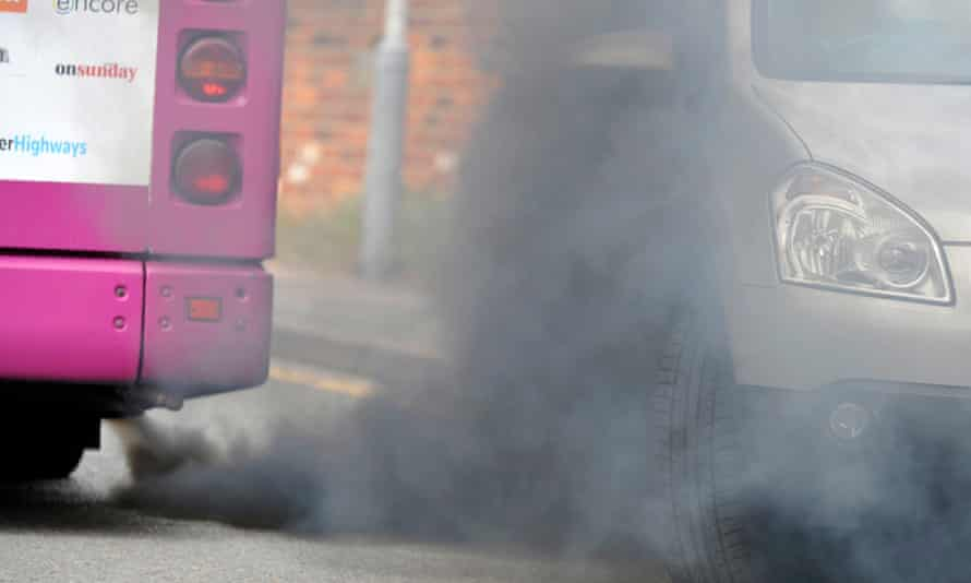 Air pollution is said to cause 40,000 premature deaths in England and Wales each year.