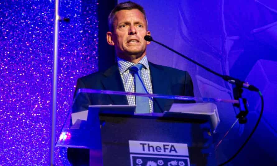 The FA's Martin Glenn