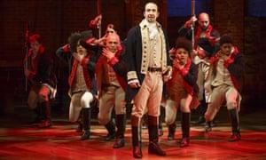 The hit musical Hamilton
