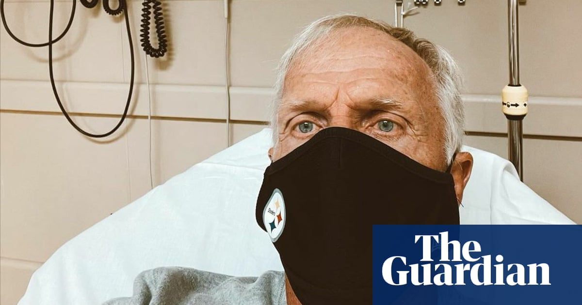Greg Norman in hospital with mild symptoms after positive Covid-19 test
