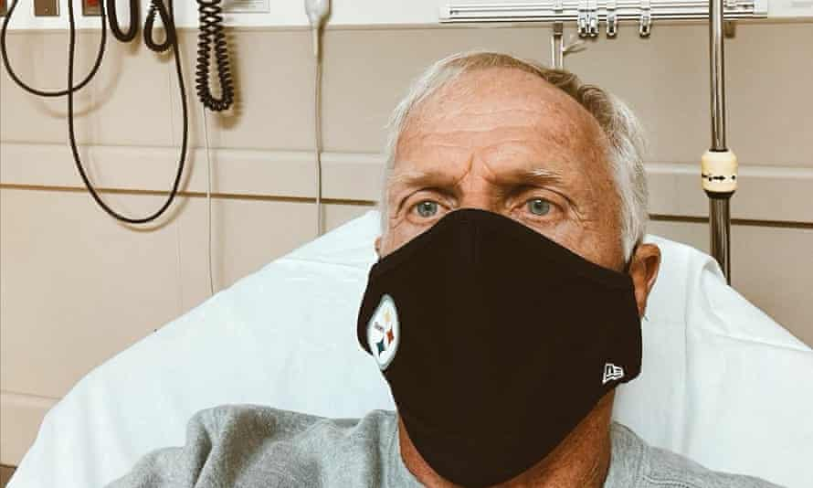 Greg Norman in hospital with 'mild symptoms' after positive Covid-19 test | Golf | The Guardian