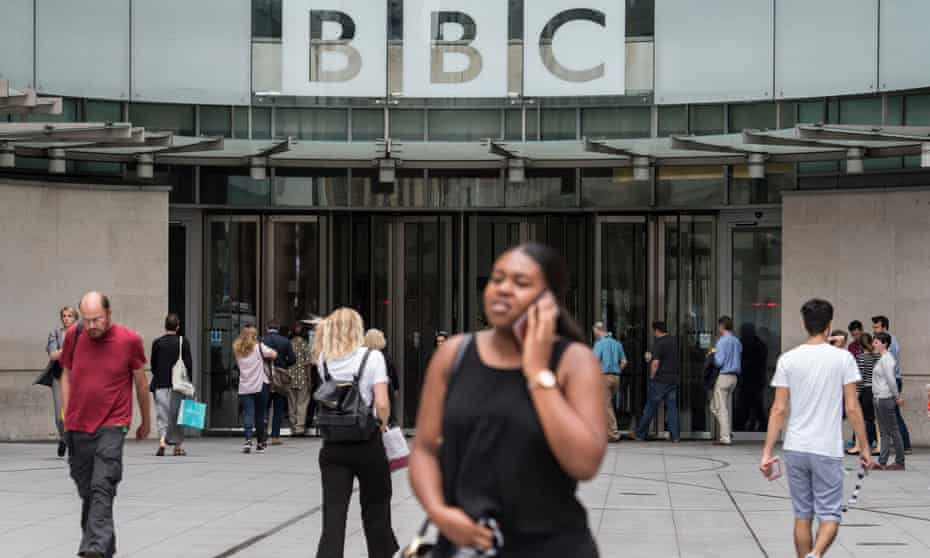 BBC Broadcasting House in London