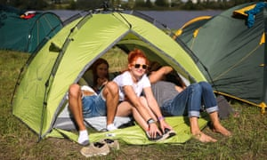 Roughing it is all part of the fun, they say – but blisters aren't.