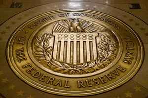 The seal of the Board of Governors of the United States Federal Reserve System.