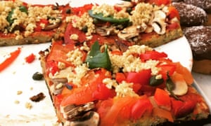Tesco launches own brand vegan range amid rise in plant based eating a vegan pizza not from tesco photograph felicity cloake for the guardian forumfinder Image collections