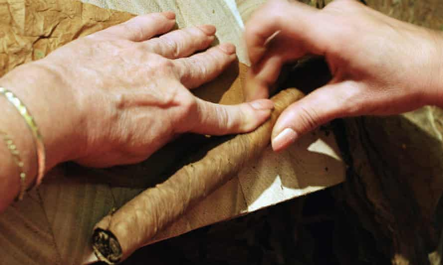 Cuba's Cohiba cigars were created in 1966 for the country's then leader, Fidel Castro, and a leftwing Brazilian website called the ban 'totally political and ideological'.