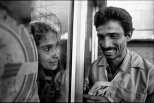 Couple at Dhaka international airport, Bangladesh, 1996