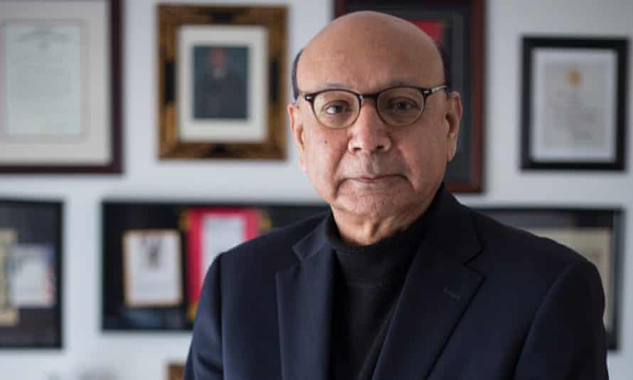 Khizr Khan at his home in Charlottesville, Virginia.